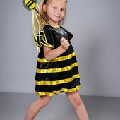 Карнавальный Новогодний  костюм Пчелка