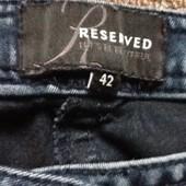 Джинсы Reserved 42 размера на девушку/ женщинку; Укрпочта +10 грн