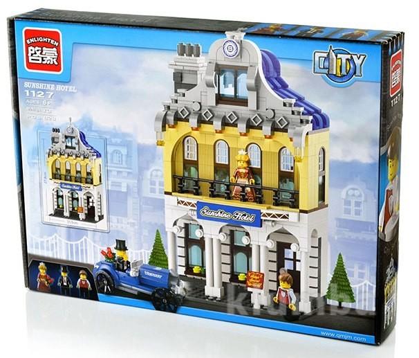Конструктор brick enlighten серия город 1127 отель фото №1