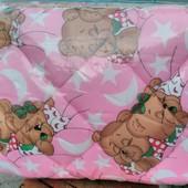 Детское одеяло с подушечкой на силиконе