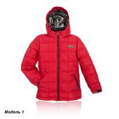 Зимняя куртка на мальчика размер с 36 по 42 (8-14 лет) - красная сезон 2015-2016