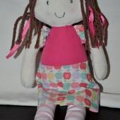 Мягкая мягконабивная симпатичная кукла куколка первая подружка