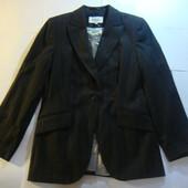 Новый пиджак без ценника, р. 12 или L 98% шерсть, 2% лайкра