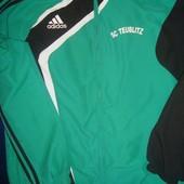 Фірмова спортивна кофта олимпийка  мастерка Adidas л.