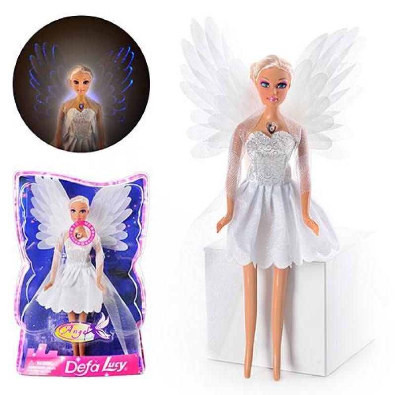 Кукла с крыльями defa lucy 8219 ангел со светящимися крыльями фото №1