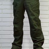 Тактические брюки из плотного 100% хлопка.