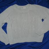 Трикотажный свитерок р.146-152 см. Есть нюансик!