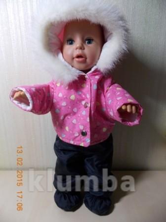 Эксклюзивно на подарки! одежда для куклы beby born фото №1