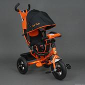 Бест Трайк Фара 6588 надувные колеса новинка трехколесный Best Trike