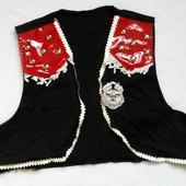 Оригинальная жилетка для костюма Ковбоя или Шерифа