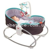 Кресло - кроватка - качалка 3 в 1 Tiny Love «Мамина любовь» (бирюзовый) 18026068