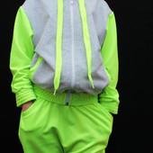 Спортивный костюм детский с заниженной мотней 00117 (3 цвета)