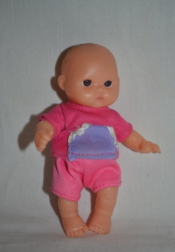 Реалистичная кукла анатомическая девочка младенец berenguer беренджер фото №1