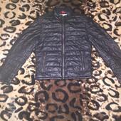 Мужская кожаная куртка Milestone,(S)новое