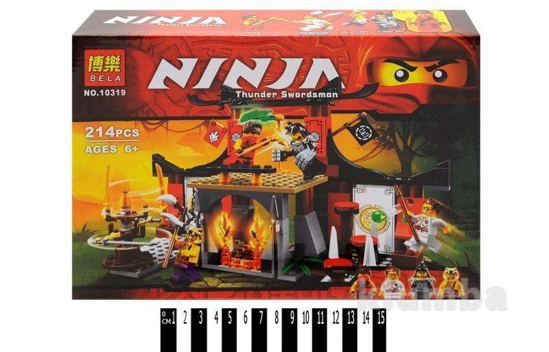 Конструктор bela ninja 10319 решающее сражение фото №1