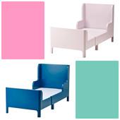 Бусунге раздвижная кровать IKEA (реал.фото)