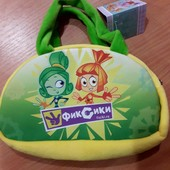Мягкая сумочка Фиксики