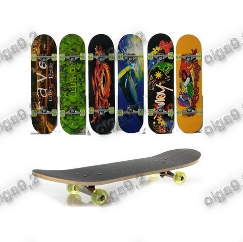 Скейт Подростковый 0321-1. Колеса PU, 78,5 х 20 см фото №1