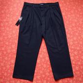 Новые мужские брюки M&S размер 38/29. Цвет очень-очень темно синий, почти черный. Длина 95 см, шагов