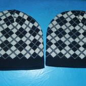 Новые фирменные шапки унисекс на голову 57-59 см