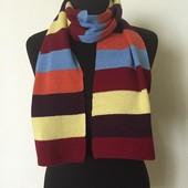 Детский мягенький трикотажный шарф