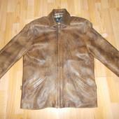 """Чоловіча куртка- піджак, натуральна шкіра розмір """"М"""""""