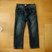 5-6 лет F&F осень отличные классические джинсы. Длина - 69 см, шаговый - 45 см, пояс с утяжками макс