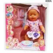 Пупс интерактивный 8004 Warm baby кукла пупсик