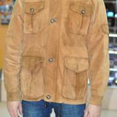 Замшевая куртка, р.XL