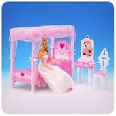 Мебель для кукол (барби) Gloria «Спальня» № 2614