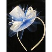 Шляпка для утренника на обруче или повязке (ободок)