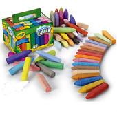Мелки для рисования на асфальте Crayola, 48 шт. Огромный набор