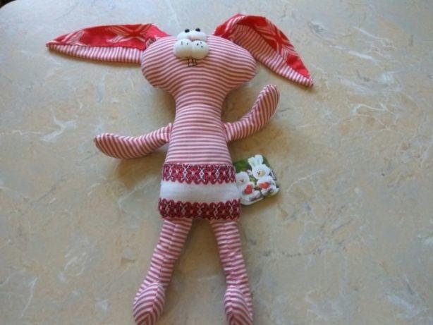 Заяц зайчик  мягкая игрушка фото №1