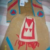новый костюм индейца на 3-5 лет рост до 110 см