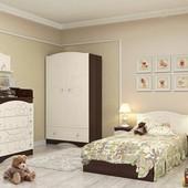 Гарантия 2 года! Кровать Kiddy» №1 120x190 см, укр. производство