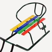 Санки Малюк (кольорові планки)