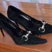 Туфли женские замшевые Очень хорошее состояние
