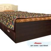Гарантия 2 года! Кровать Мишка №5, 2 ящика, 120x190 см, укр. производство
