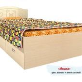 Гарантия 2 года! Кровать Мишка №6, 2 ящика, 120x190 см, укр. производство