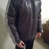 Куртка зимняя реглан на синтепоне, Адидас Новая