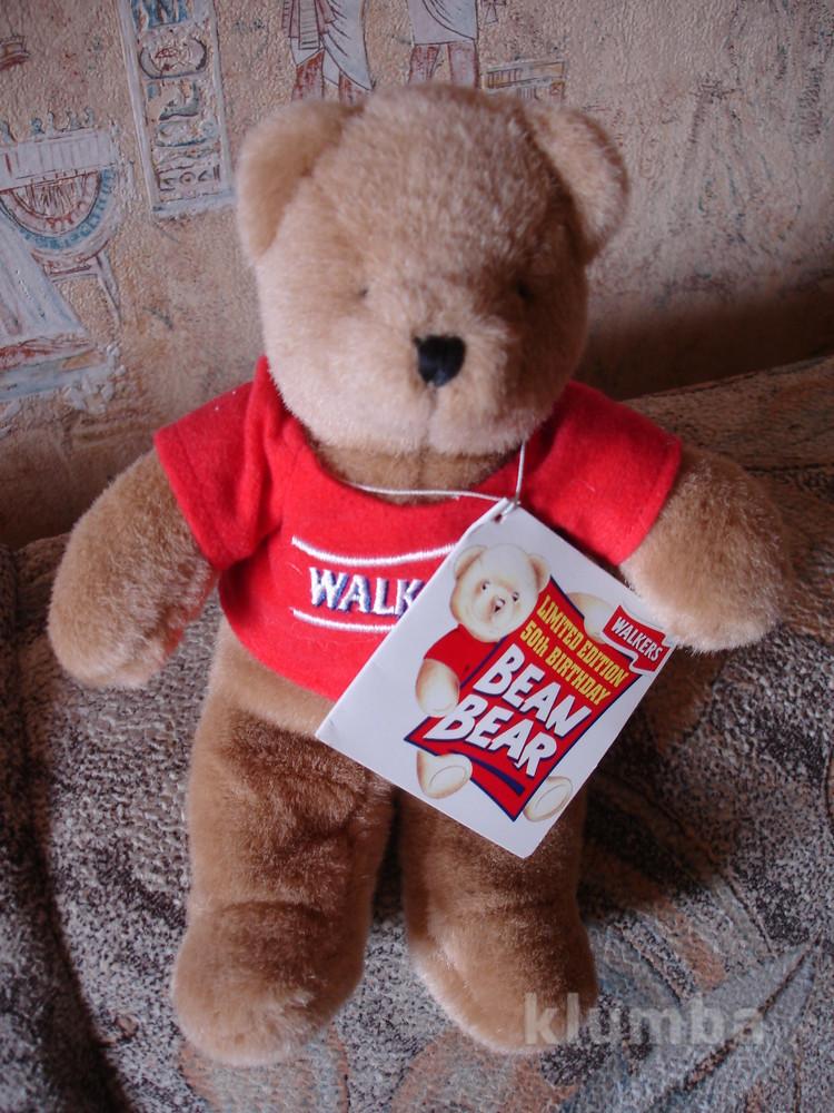 Коллекционный лимитированный мишка медведь walkers мягкая игрушка фото №1
