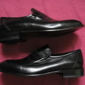 Новые Valleverde (41, 26 см) кожаные туфли мужкие Италия