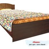 Гарантия 2 года! Кровать Мишка №4 без ящиков, 120x190 см, укр. производство