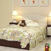 Гарантия 2 года! Кровать Мишка №5 без ящиков, 70x140 см, укр. производство