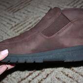 кожаные ботиночки.Размер 39
