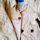 Клевый вельветовый пиджачек