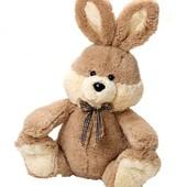 Зайчик Дарчі, заец дарчи мягкие игрушки, м'які іграшки тм левеня