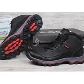 Ботинки кожаные на меху Ecco Gore-tex мужские зимние 41-45 р