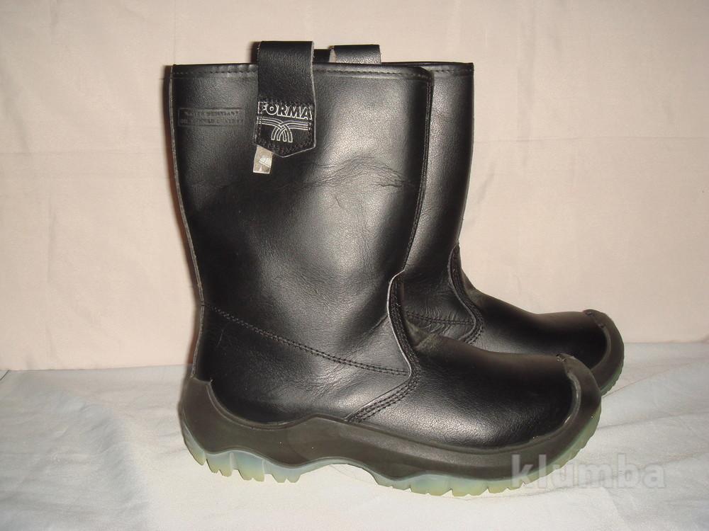 8ab8f261d Ботинки-сапоги новые кожаные утепленные мужские р.39 forma италия, зима,  демисезон