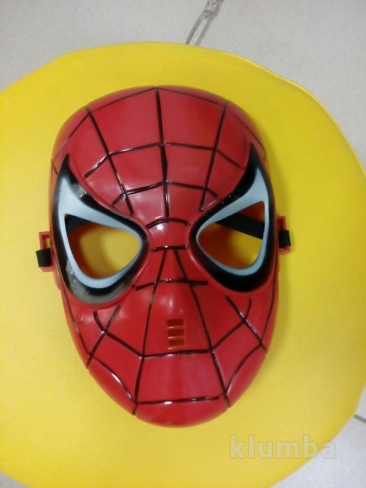 Маска человека паука, спайдермен, людина паук фото №1